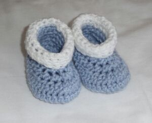 10 FREE Crochet Baby Booties Patterns for Boys
