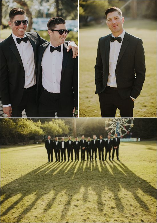 groomsmen black tie @weddingchicks