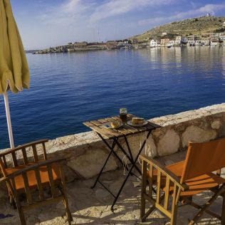 #Halki balcony #Greece
