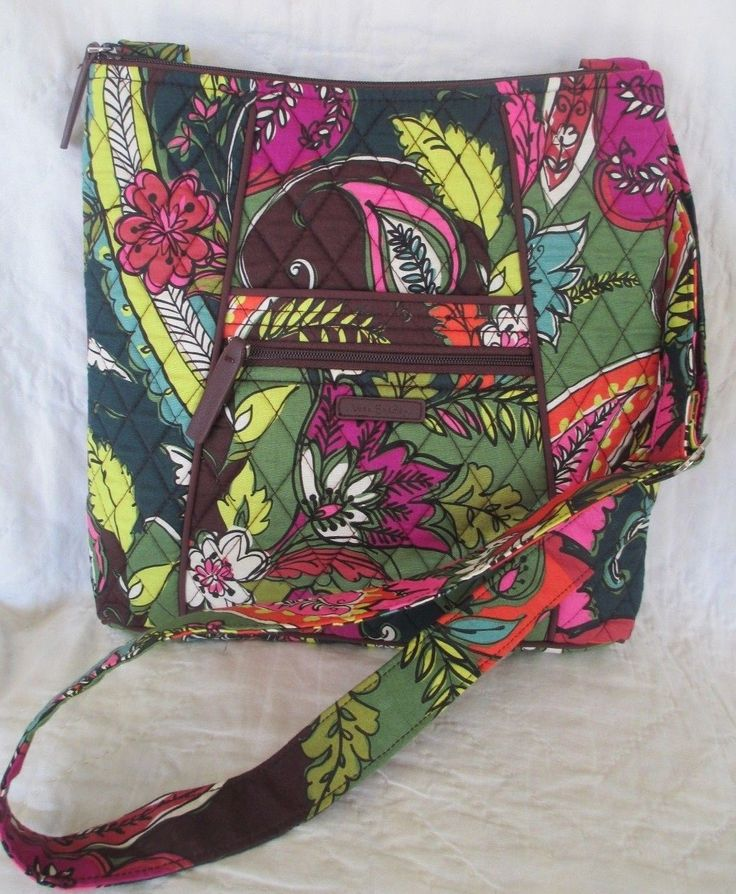 VERA BRADLEY Hipster Purse Bag Crossbody AUTUMN LEAVES NWT