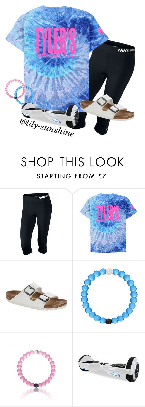 """""""I want this Tyler's shirt"""" by lily-sunshine ❤ liked on Polyvore featuring NIKE, Birkenstock, women's clothing, women's fashion, women, female, woman, misses and juniors"""