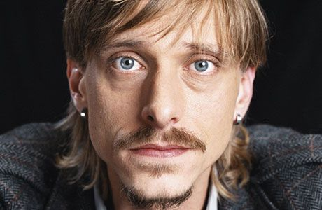 Mackenzie Crook. George in the Trickster books by Tamora Pierce