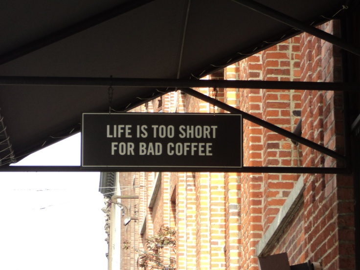 A great coffee shop at Yaletown, Vancouver
