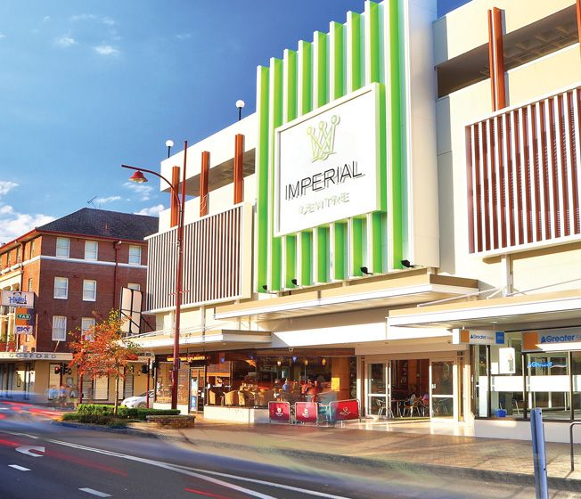 Imperial Centre - Gosford, Construction 2015