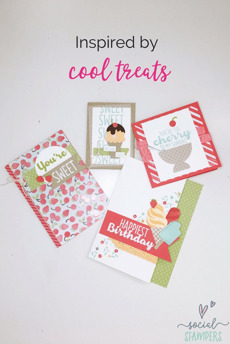 Cool Treats Cards