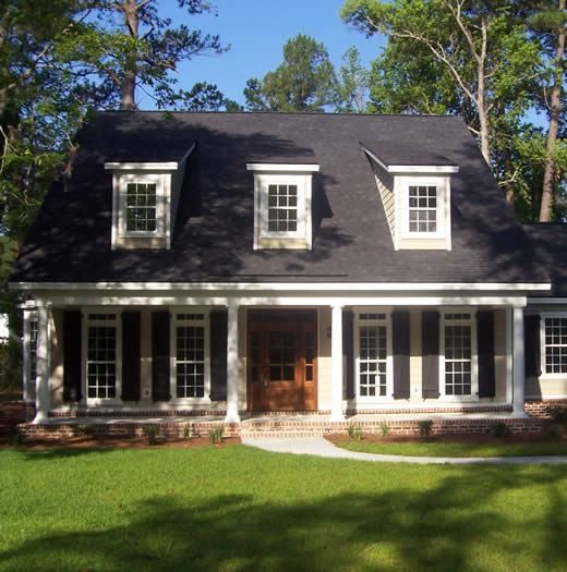 45 best images about dormers on pinterest the roof for Houses with dormers and front porch