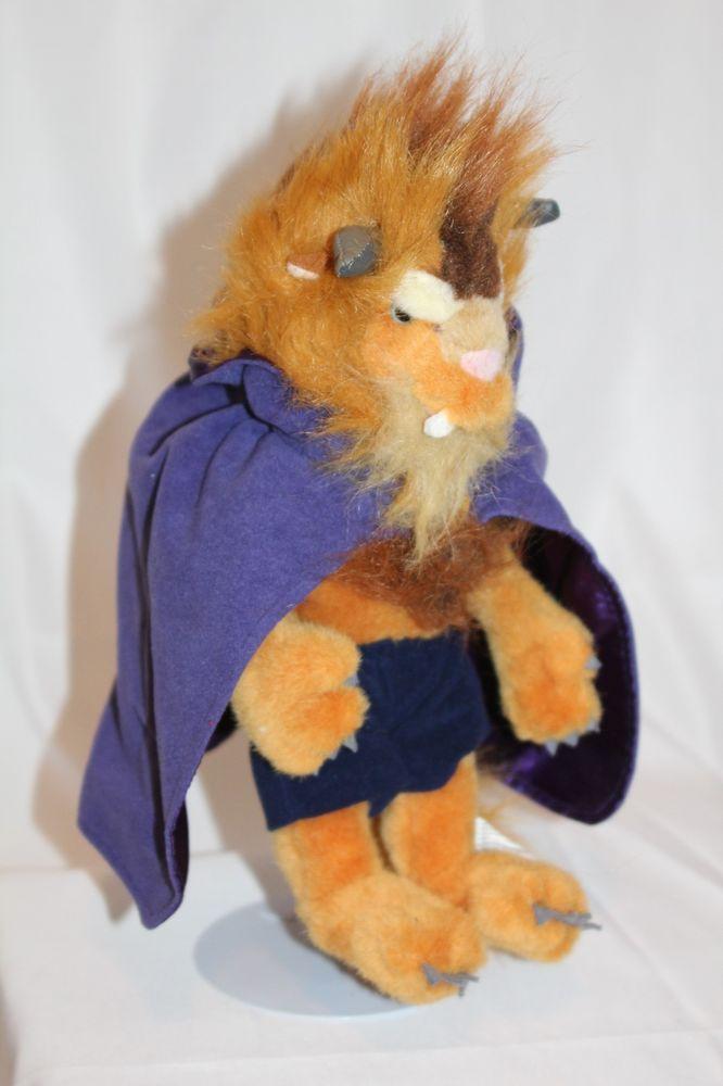 805b9f3f9c5 Disney Store Beauty and The Beast Plush Beast Stuffed Animal 14