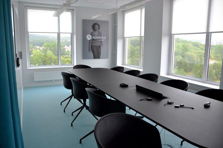 Konferensrum på Advance kontor på Lyckholms