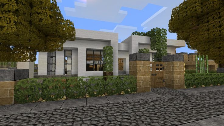 Minecraft Modern House Step By Step Tutorial minecraft Pinterest Home Minecraft  modern and Modern houses. Minecraft Modern House Tutorial Step By Step Pictures