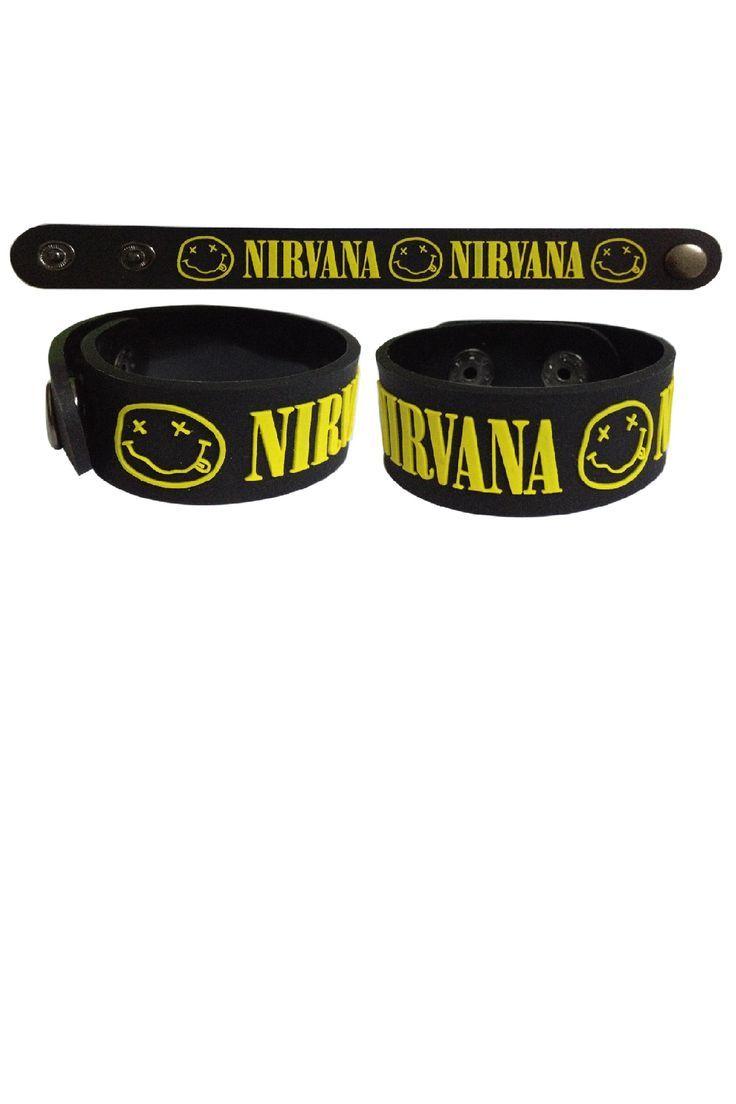 Best Bracelet 2017/ 2018 : Nirvana - Rock merchandise store