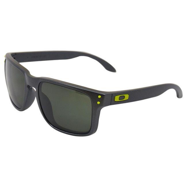 Oakley OO9102-38 Steel Frame Holbrook Dark Lens Men's Sunglasses
