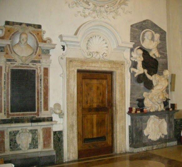 interni della chiesa di S.Isidoro, Roma