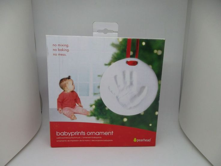 Babyprints Hand Print Ornament By Pearhead  #Pearhead