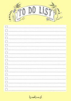 Free To Do List Printable