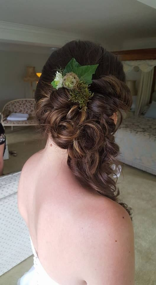 Hair by WHAM Artists http://weddinghairandmakeupartists.com/