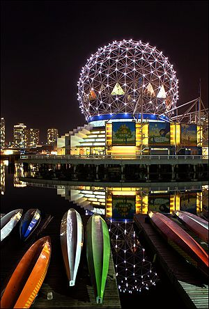 Science World - 1455 Quebec Street, Vancouver Canada