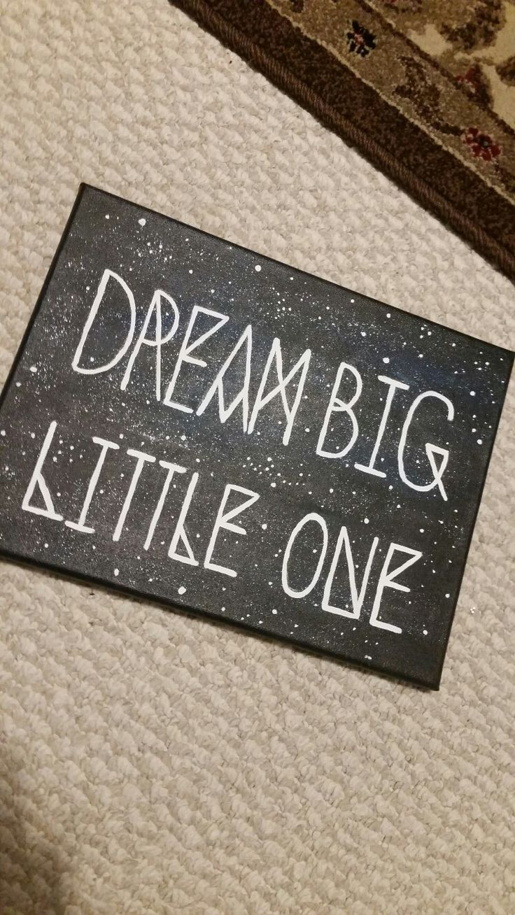 Dream Big Little One: big little sorority craft!