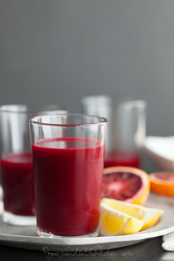 Carrot, beet, blood orange, ginger & turmeric juice #health #wellness