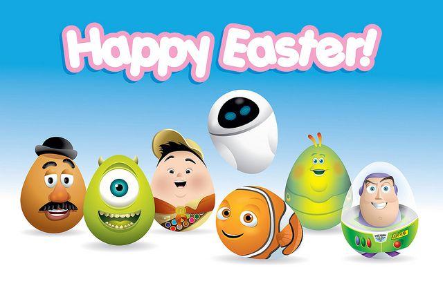 Happy Easter - Pixar Eggs  by Jerrod Maruyama, via Flickr