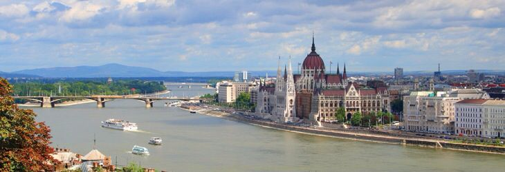 River Danube and Parliment building