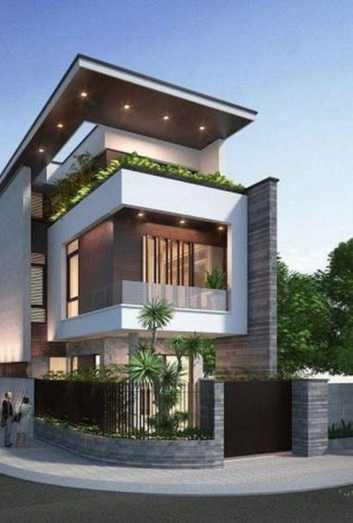 36 Popular Modern Dream House Exterior Design Ideas For Your House Planning 16 Dream House Exterior Architecture House Facade House