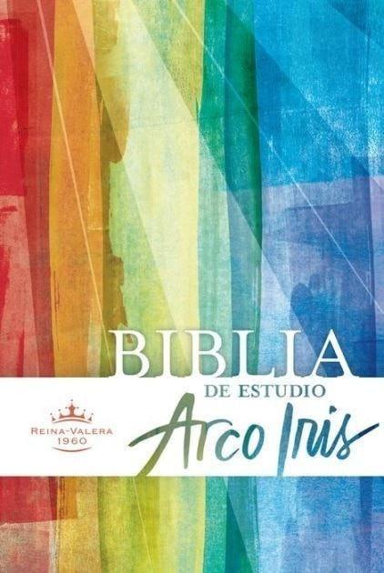 Biblia de Estudio Arco Iris RVR 1960, Enc. Dura Multicolor, Ind. (RVR 1960 Rainbow Study Bible, Printed Hardcover, Ind.)