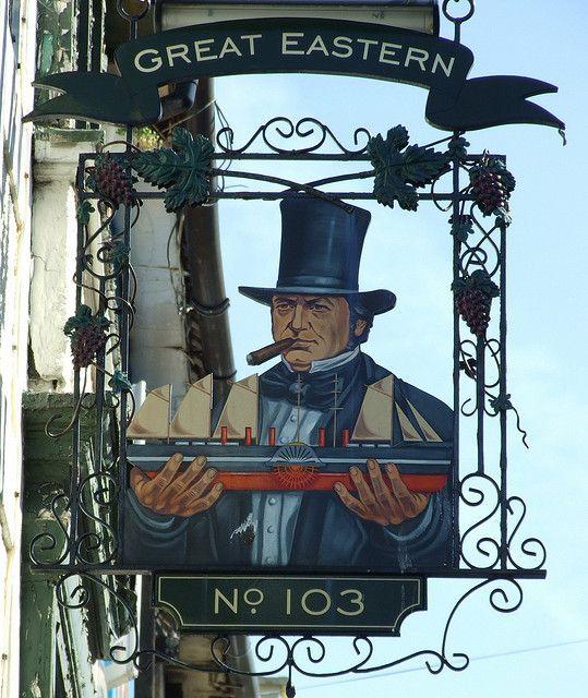 *Brighton Great Eastern Pub Sign*