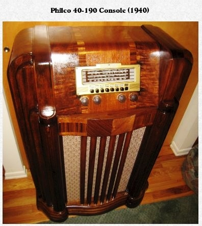 353 Best Console Radios Images On Pinterest Antique
