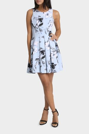 TOKITO Pleasantly Pleated San Fran Floral Dress