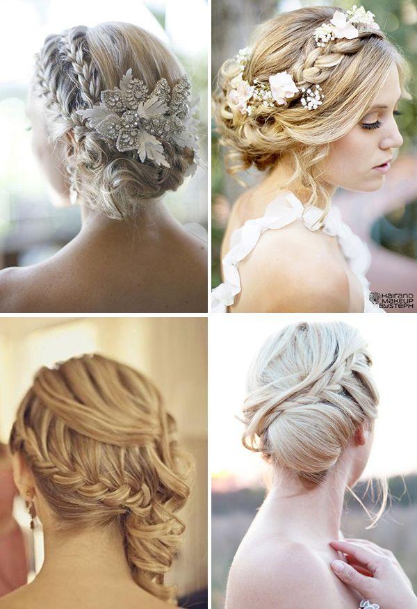 прически невесты косы и пучки