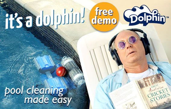 Dolphin Pool Cleaners - It's a Dolphin!!