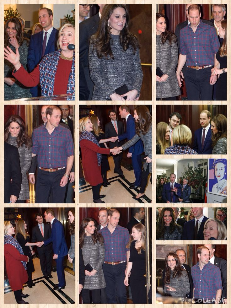 Kate Middleton and Hillary and Chelsea Clinton congratulate each other on baby news  09 DECEMBER 2014 The talk was all about babies when the Duchess of Cambridge, née Kate Middleton, met Hillary and Chelsea Clinton during her USA tour. On Monday evening, the pregnant royal accompanied Prince William to a reception at the British Consulate where they got a chance to congratulate the former First Daughter on the birth of her baby Charlotte five months ago.