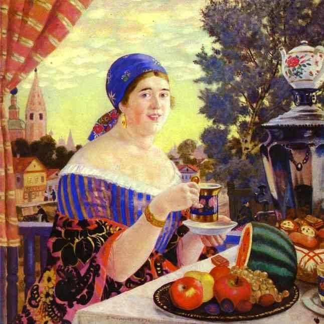 Etude of peasant for unpreserved picture From Church - Boris Kustodiev - WikiPaintings.org