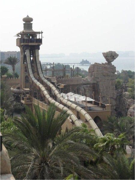 Les fantastiques parcs aquatiques de Dubaï : Wild Wadi & Aquaventure Waterpark