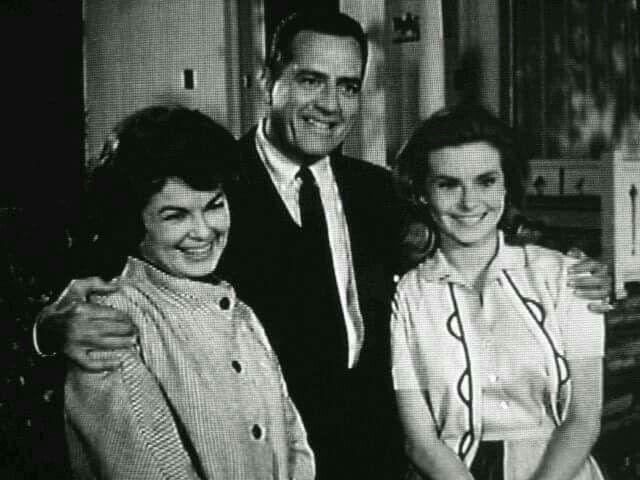 Barbara Hale, Raymond Burr, Natalie Trundy