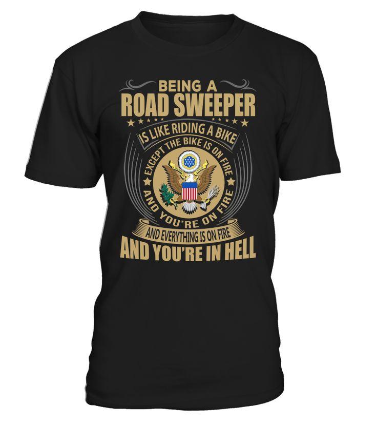 Being a Road Sweeper Is Like Riding A Bike #RoadSweeper