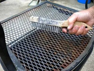 Wrought Iron Patio Table   How To Clean And Paint