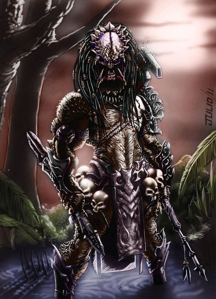 816 Best Images About Awsome Predator Art On Pinterest