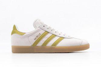 adidas Gazelle (White/Gold/Gum)