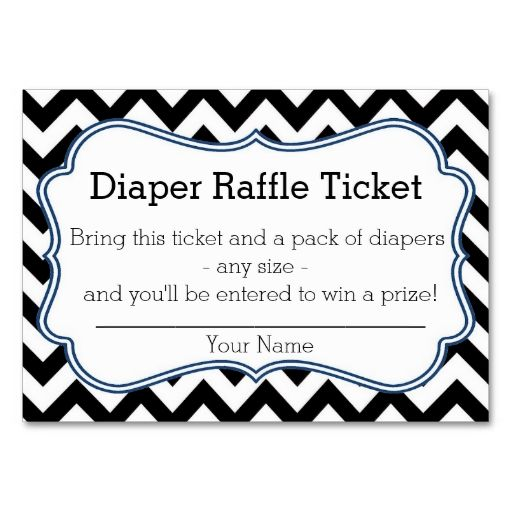 blank diaper raffle ticket - photo #33