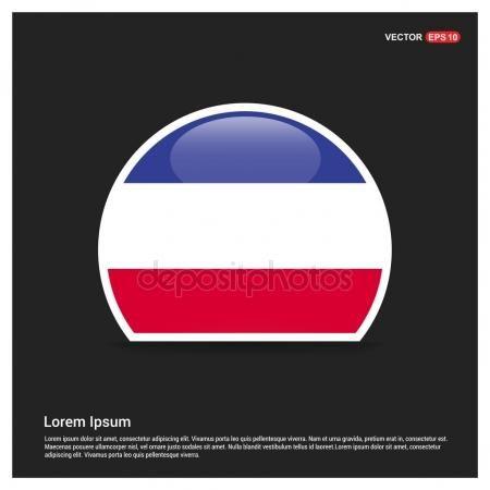 Bandera de Francia etiqueta engomada del círculo — Vector de stock #93847726