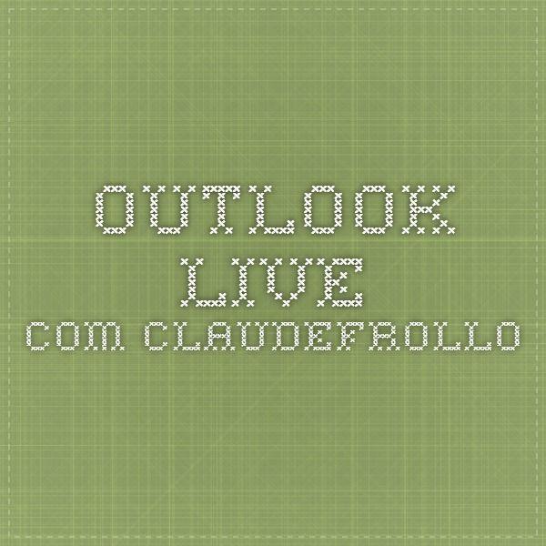 outlook.live.com claudefrollo