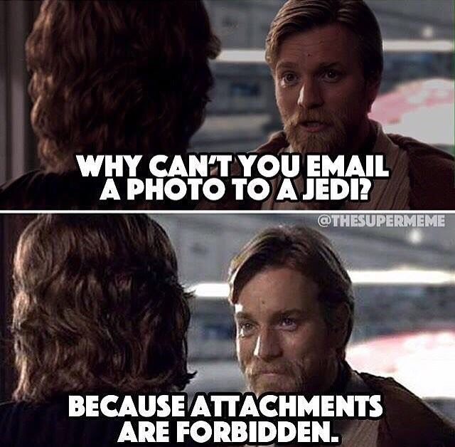 Gotta love these Star Wars puns XD