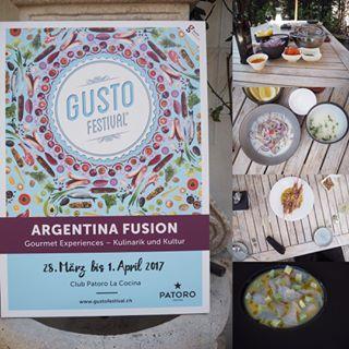 @gustofestival in Olten. Wie wird #ceviche richtig gemacht. Aus erster Hand erfahren wir die authentische Art. . . . . #fisch #frisch #food #foodporn #argentina #fish #lemon #salz #instafood #foodporn #rawfish #yummy #foodie #instafood #salt #aroma #artisan #swissblogger #swissblogger #swissfoodblog #traditional #blogger_ch #goodfood #foodie #yummy #nomnom #intresting #learning #lowcarb #healthyfood #healthy #seafood