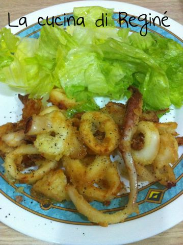 calamari che sembrano fritti, ma non lo sono la #ricetta# sul blog La cucina di Reginé
