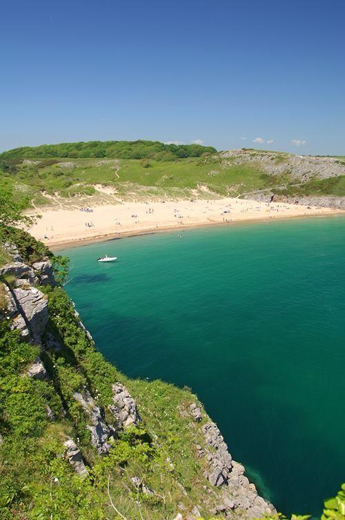 Pembrokeshire coastline - Barafundle Bay