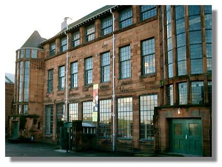Scotland Street School, Glasgow. Building designed by Charles Rennie Macintosh. No longer used as a school, it has been turned into a wonderful museum. It's a great place to visit for a day out in Glasgow.