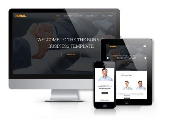 Ronal - Drupal Website Design. Drupal Themes. $59.00