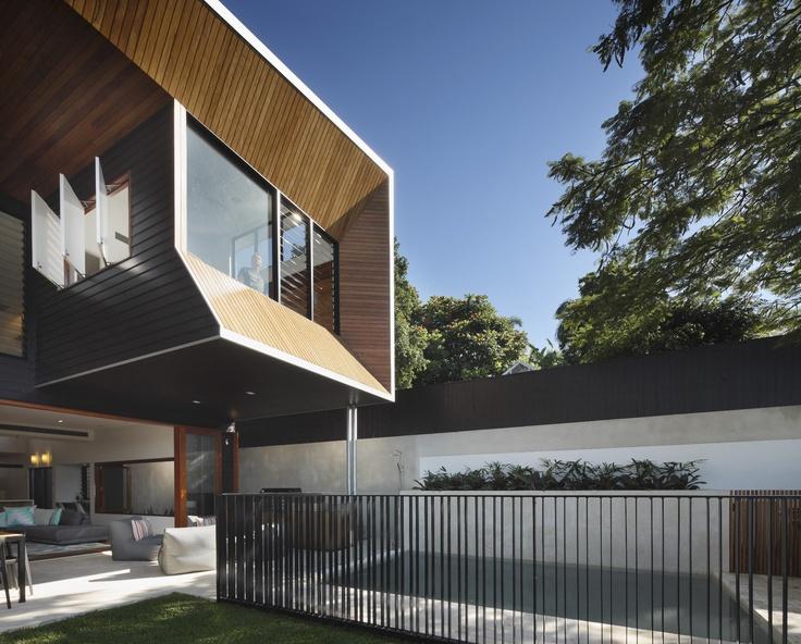 Wilden Street House, Paddington Australia by Shaun Lockyer Architects.