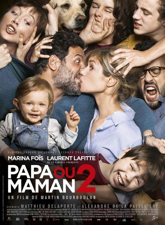 """<3<3<3<3 """"Papa ou maman 2"""", une comédie de Martin Bourboulon avec Laurent Lafitte, Marina Foïs... (12/2016)"""